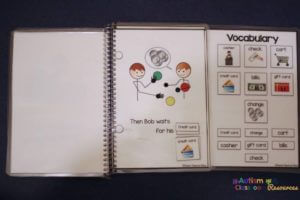 functional interactive adapted books for autism