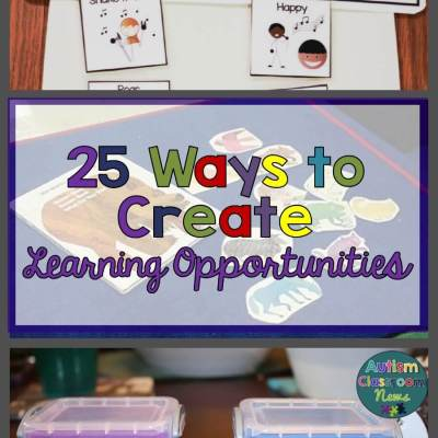 25 Ways to Create Learning Opportunities with Incidental Teaching