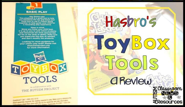 Tools for Teaching Children with ASD to Play: Hasbro's ToyBox Tools — Phase 2 Review