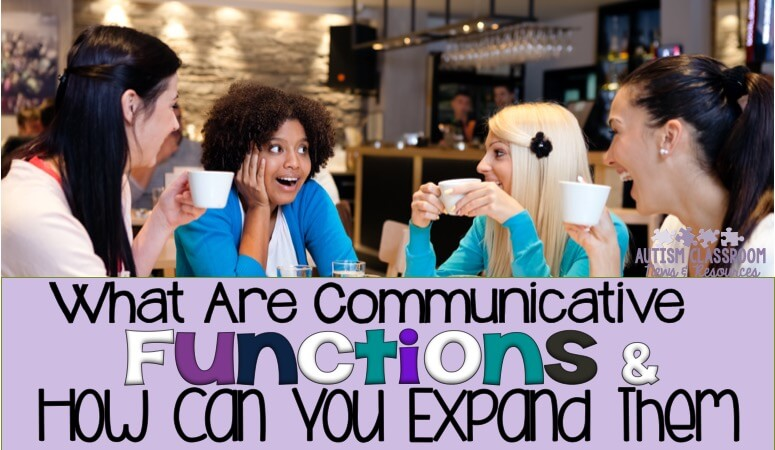 What Are Communicative Functions and How to Expand Them