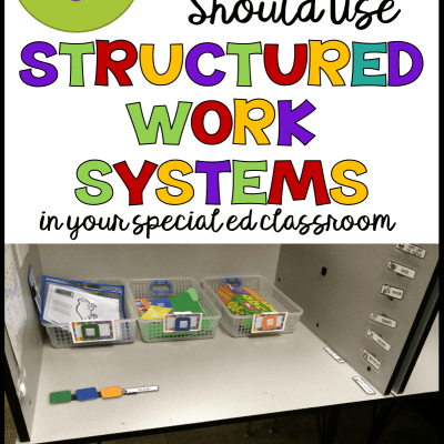 What Can Independent Work Systems do for Your Special Education Classroom?