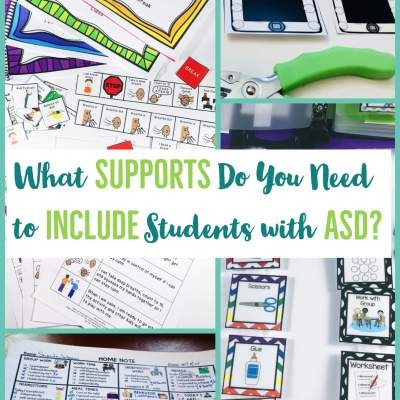 What Supports Do You Need to Successfully Include Students with Autism?