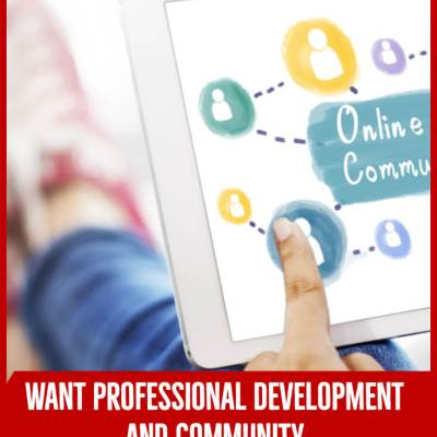 Want Professional Development and Community in Your Pajamas?