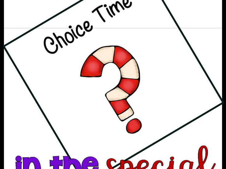 Making choices and accepting those choices is a huge skill for students in special education. Find out how you can create choice time in your classroom to benefit your students. #specialeducation #settingupclassroom #classroomorganization #classroomschedule #specialedschedule