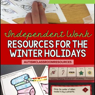 Independent Work Resources for the Winter Holidays