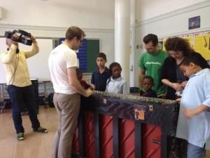 Scott and children interview for NBC