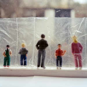 Plastic figures, copyright  Rosie Barnes