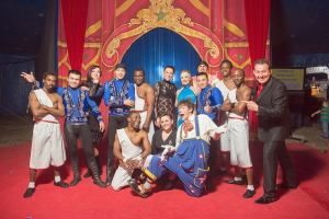 Image taken from the Circus Starr Facebook page, meet the troupe