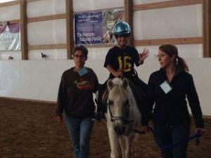 Dayton at Therappeutic Riding, Inc.