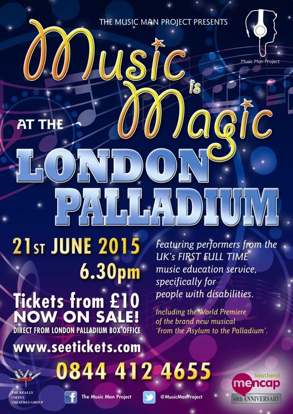 London Palladium Concert Poster