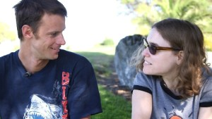 Randall Martin & Katie Buster share their feelings for each other (PRNewsFoto/Lifehouse)