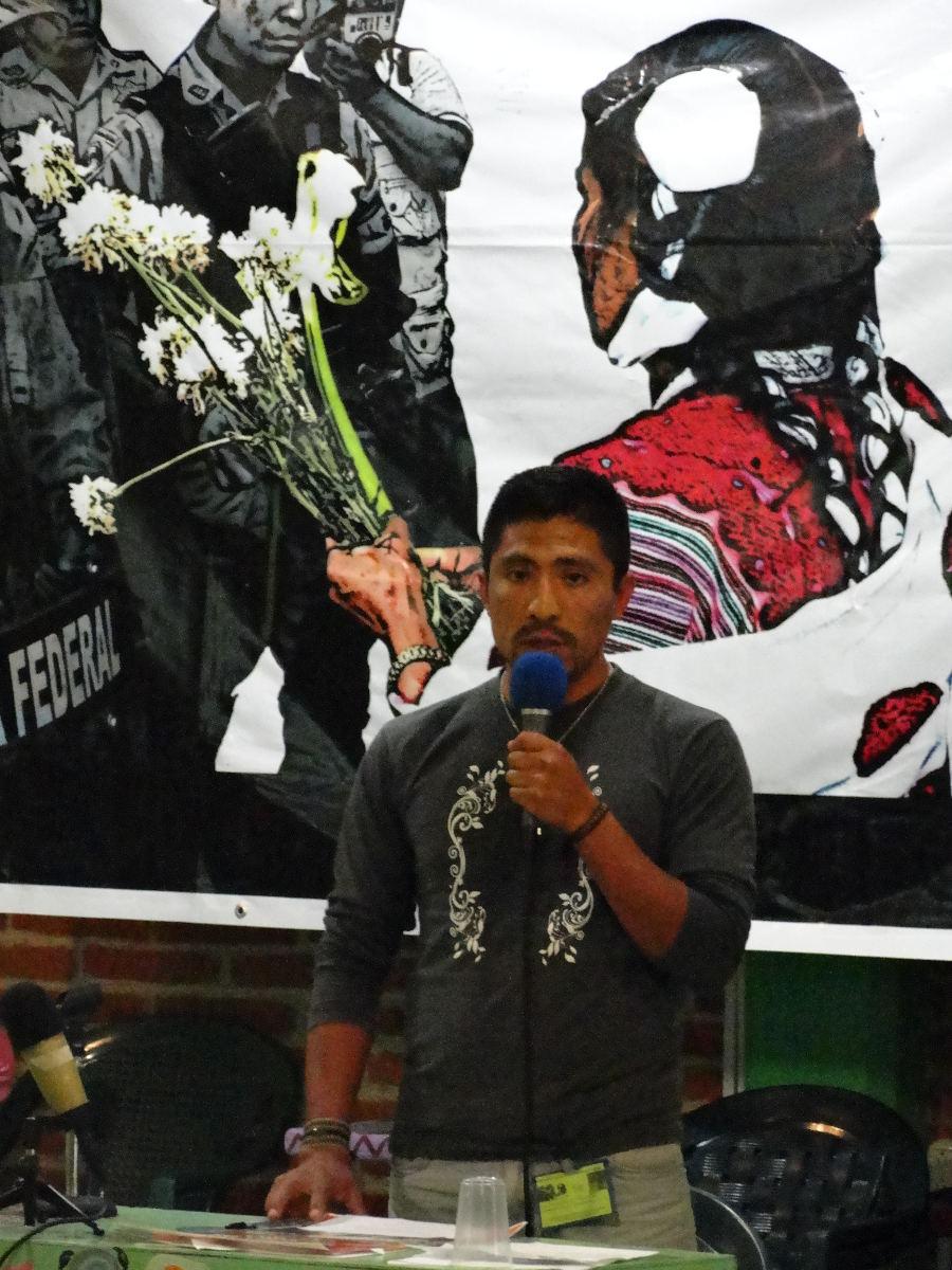 Settimana di mobilitazioni Juan Vázquez Guzmán Vive, La Lucha di Bachajón Sigue!
