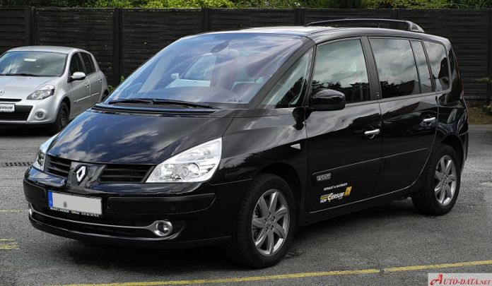 2010 Renault Grand Espace Iv Phase Iii 2 0 Dci 150 Hp Technical Specs Data Fuel Consumption Dimensions