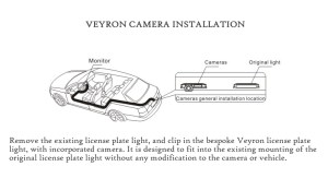 Veyron VCVAUX Reversing RearView Camera for Vauxhall