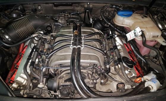 Silnik 2.4 V6 w Audi A6