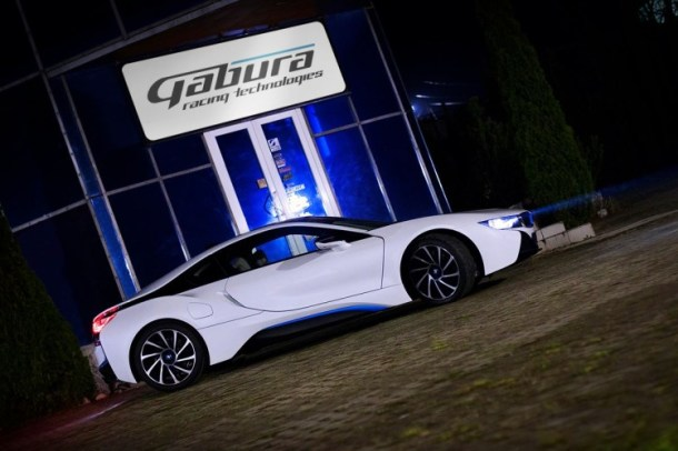 BMW i8 V8 Gabura Racing Technologies