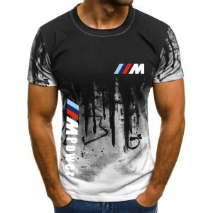 2021-BMW-M-Sports-Summer-Custom-Men-s-3D-Printed-Top-Solid-Round-Neck-T-Shirt