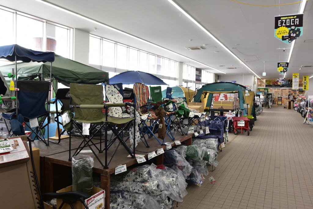 ジョイフルエーケーでこの夏、売れているキャンプグッズを聞いてきた – 北海道オートキャンプ協会