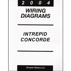 2004 Dodge Intrepid, Chrysler Concorde, 300M (LH) Wiring Diagrams