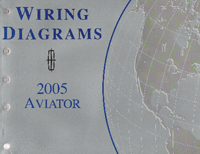 2005 Lincoln Aviator Factory Wiring Diagrams