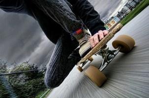 cool longboard