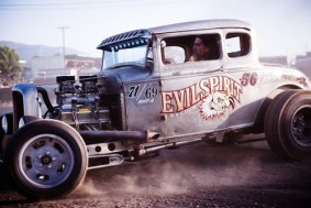 hot rod burn out