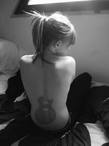 guitar tatoo