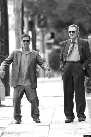 "Al Pacino And Christopher Walken Are ""Stand Up Guys"" In Los Angeles"