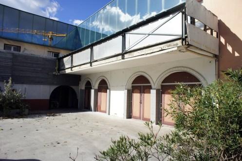 Garage maserati abandonné