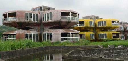 Lieux abandonnés: Sanzhi taïwan 1