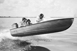 80 classic speed boat