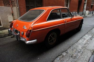 MG B GT arrière gauche
