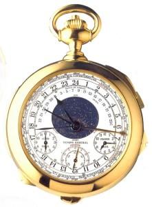 La Calibre 89 or, meilleur rapport prix / poids / complications du monde (4 millions d'€ / 1 kg / 33).