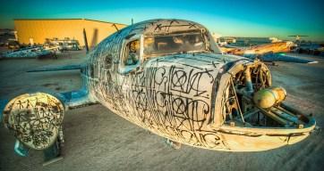 boneyard avion squelette