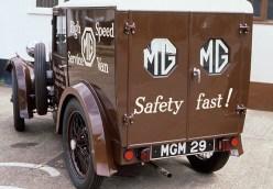 M Type high speed service van