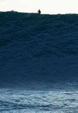 au sommet de la vague