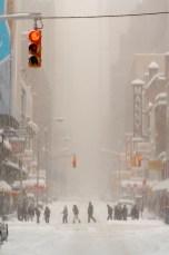 ny sous la neige