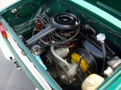 1967 fiat 850 bertone spider convertible engine bay 2