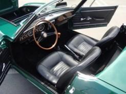 1967 fiat 850 bertone spider convertible interior