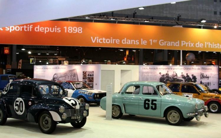 Retromobile Renault global