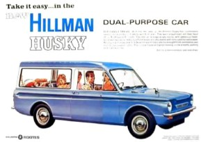 hillman husky estate