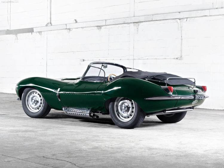 Jaguar XK SS Rear