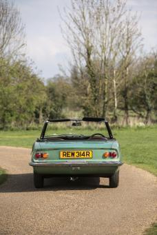 MGB Pininfarina Rear