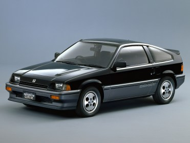 Honda CRX Noire AV