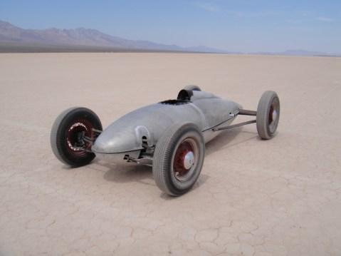 Belly tank racer