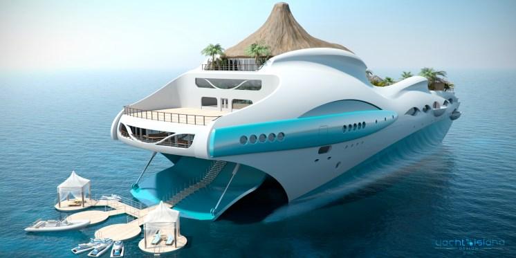 Yacht Ile tropicale 1