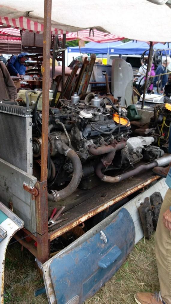Rolls Engine Autojumble