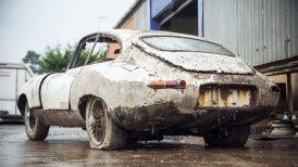 Jaguart Type E Barn Find 2