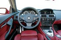 BMW M6 interieur