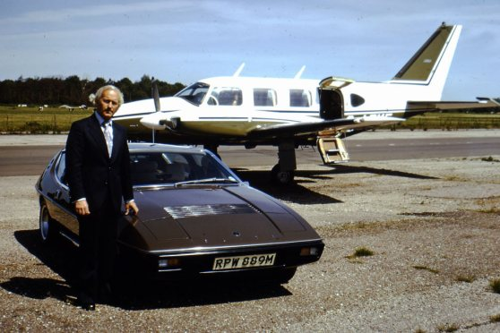 Colin Chapman Lotus Elite
